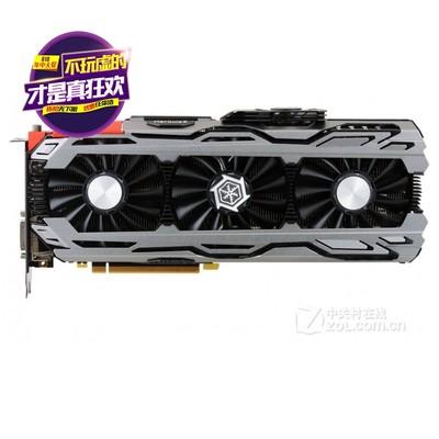 映众 GeForce GTX1080 X4冰龙超级版 ICHILL 1873MHz/ 8GB/256Bit