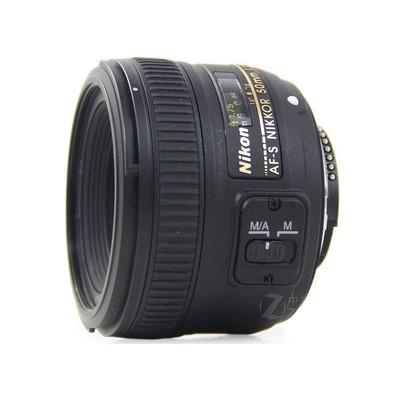 尼康(Nikon) AF-S 50mm f/1.8G 镜头 全画幅 定焦镜头