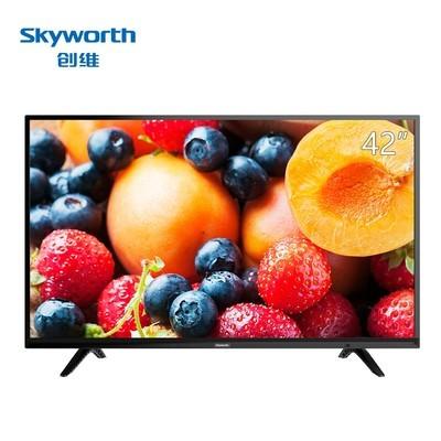 创维  42X6 42英寸 10核智能彩电互联网平板液晶电视 (黑色)