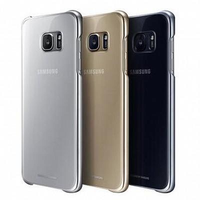 【三星专卖】 GALAXY S7 Clear Cover 正件 原装保护套/后盖式手机壳 适用于三星S7/S7edge G9350 G9300 原装手机壳S7Edge曲面
