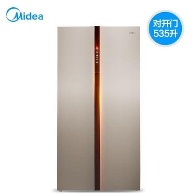 美的冰箱(Midea) BCD-535WKZM(E) 535L 对开门 风冷无霜 智能 冰箱