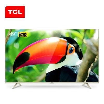 TCL电视 49A810 49英寸全高清 八核观影 金属边框 智能LED液晶电视