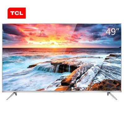 TCL电视 49A660U 49英寸4K 30核 网络智能LED液晶电视 热销
