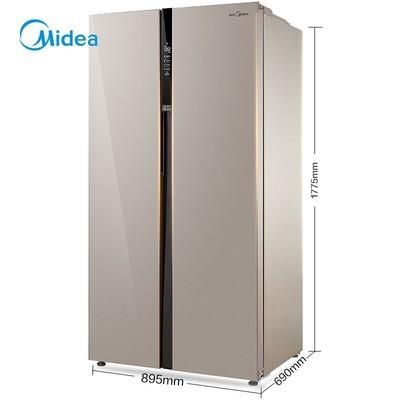 美的冰箱(Midea) BCD-520WKM(E) 520升 对开门 风冷无霜 电脑温控