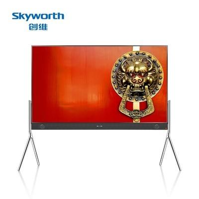 创维  75E8900 75英寸超薄全金属天幕4K HDR超高清智能液晶平板电视