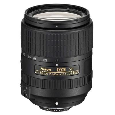 尼康(Nikon)AF-S DX 尼克尔 18-300mm f/3.5-6.3G ED VR 镜头 新款 67mm口径