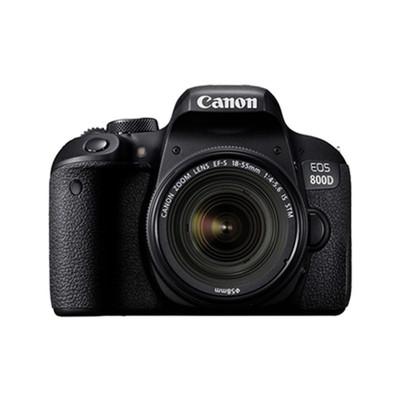 佳能(Canon)EOS 800D单反套机(EF-S 18-55mm f/4-5.6 IS STM镜头)