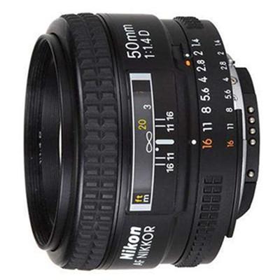 尼康(Nikon)AF 50mm f/1.4D 镜头  尼康尼克尔 FX格式 全画幅镜头 标准定焦镜头