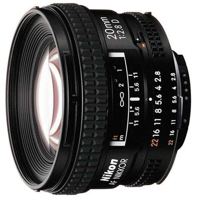 尼康(Nikon) AF 20mm f/2.8D 自动对焦镜头