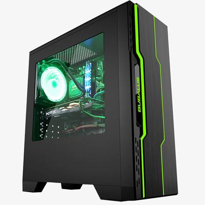 甲骨龙i5 7500台式电脑GTX1060显卡8G内存B250主板电竞DIY游戏整机
