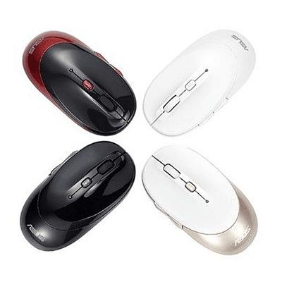 ASUS/华硕 MS-W1无线鼠标2.4G光电鼠标 DPI可调 智能节电Q鼠