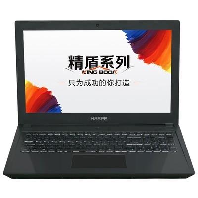 神舟 精盾T65 I7-7700HQ 8G 1T+256G SSD GTX1050Ti 4G)