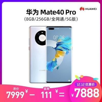 华为 Mate40 Pro(8GB/256GB/全网通/5G版)