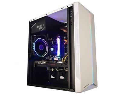 甲骨龙电脑主机 酷睿i3 9100/GTX1650 4G独显240G固态硬盘 DIY组装机 标配
