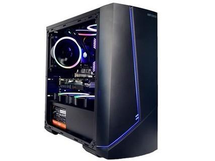 甲骨龙 AMD R5 3600 RX580 8G独显赠23.8曲面显示器 DIY电脑主机 默认标配