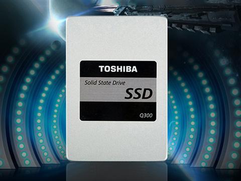 东芝 Q300系列120GB固态硬盘,品牌保证,原厂品质,急速开机,拒绝程序卡顿!装机、升级好东东