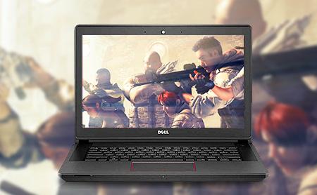 酷睿i5 4210H处理器 GTX 950M+HD 4600双显卡 4GB内存 500G硬盘 14寸防眩光屏幕