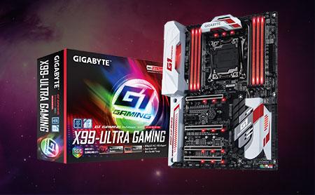 红白的主板配色、RGB灯光,视觉效果强!不俗用料和工艺、支持全新Broadwell-E处理器以及丰富的接口,满足骨灰玩家!