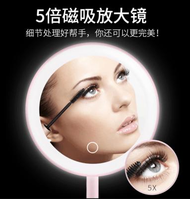 【爆款推荐】网红LED台式化妆镜