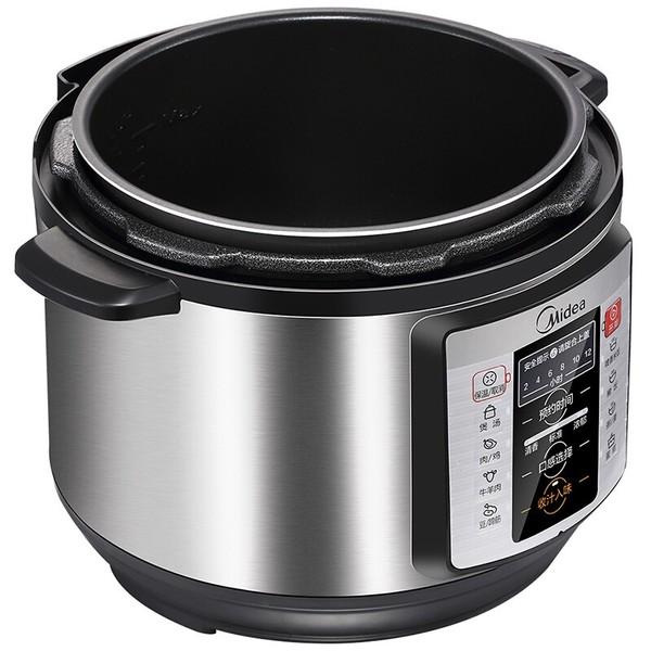 美的电压力锅WQC50A1P 一锅双胆 智能预约 5L高压锅