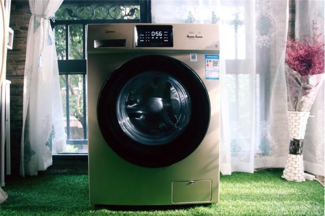 清洁力Max!美的全自动变频滚筒洗衣机健康洗衣概念更美好