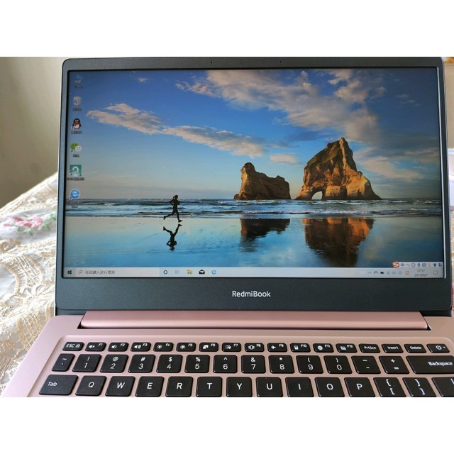 Redmibook14寸轻薄粉色少女心笔记本电脑