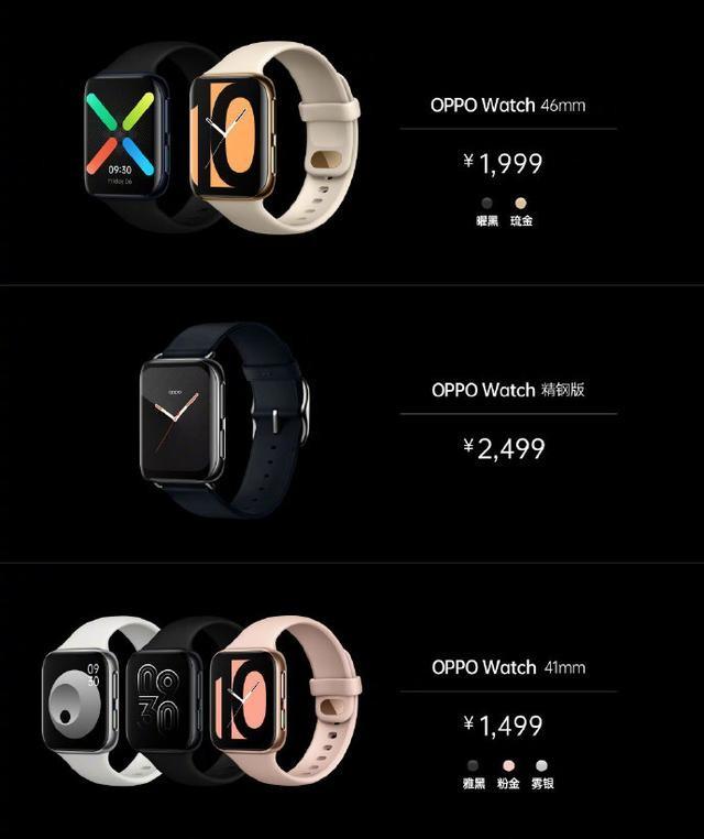 别花冤枉钱!OPPO Watch不能随性买,精钢版与普通款配置要清楚
