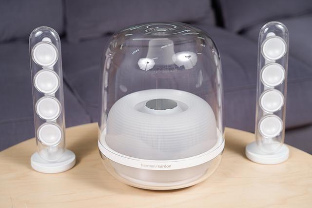 哈曼卡顿SoundSticks无线水晶四代音箱评测:玲珑时尚 震撼低音