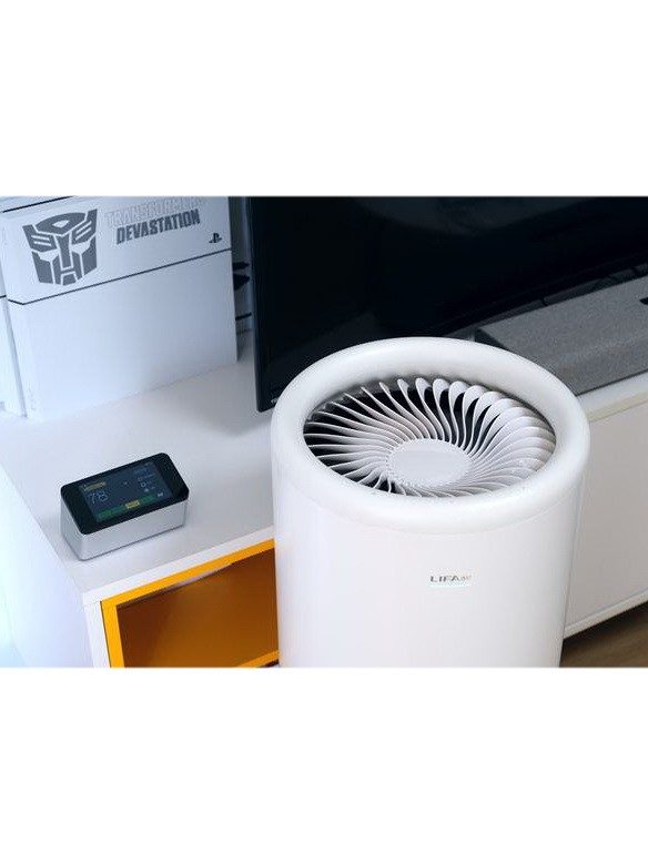 高颜值LIFAair空气净化器LA500V评测