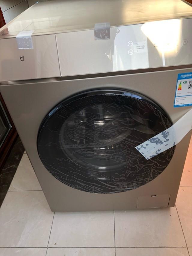 小米洗烘一体机真是太智能了,各种功能都帮我设置好