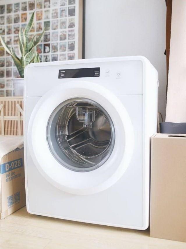 最高水温95℃,一台送给女友的专属洗衣机,男生慎用