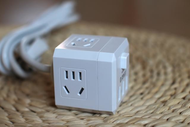 新国标3C认证,ORICO电立方 USB 智能转换插座开箱