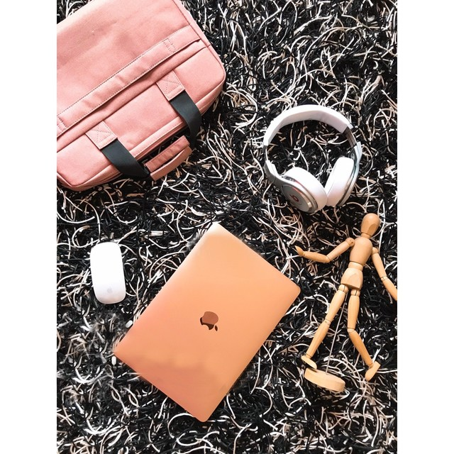 MacBook Air金粉色原来这么好看