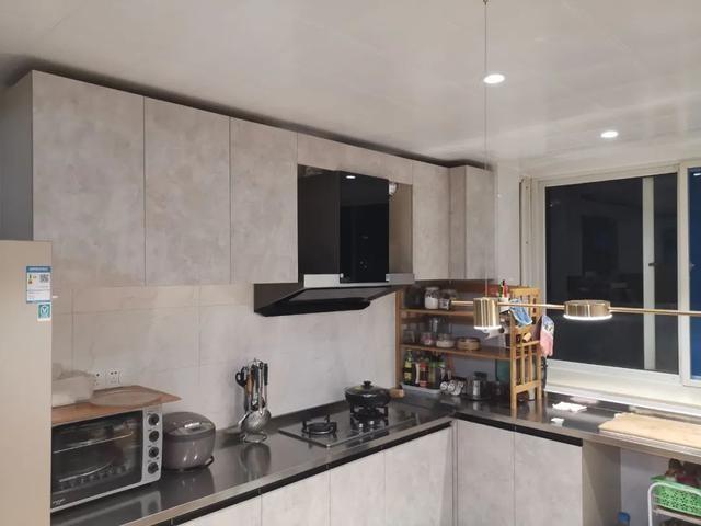 仅需万元七天,老破小改造开放式厨房!附预算清单及流程表