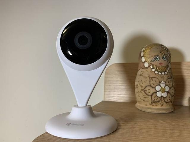 360小水滴AI版摄像头是个安全守护卫士
