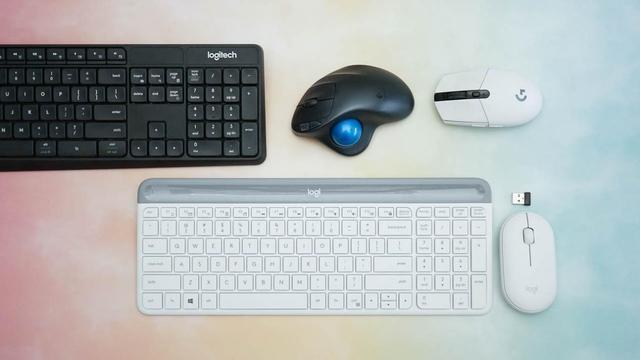 静音办公精灵 - 罗技MK470键鼠套装