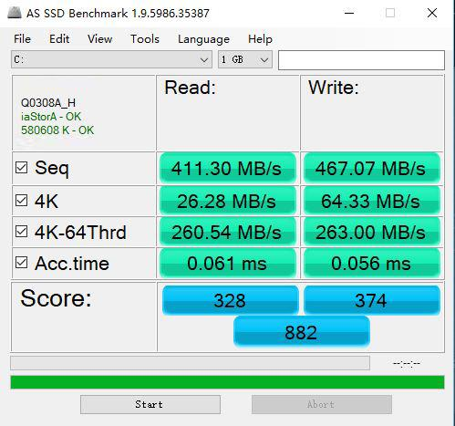 1G不到1块钱,换个昂达960G固态硬盘让小黑本重获新生