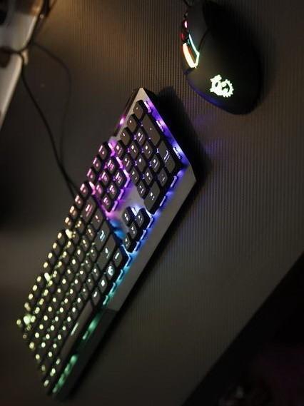 矮轴?又是矮轴!微星GK50LP机械键盘开箱评测