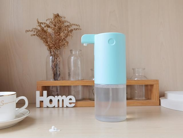 360自动出泡洗手机体验:科学洗手让家人更健康