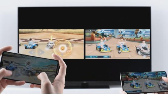 大屏玩游戏才更爽,75英寸华为智慧屏更大更清晰