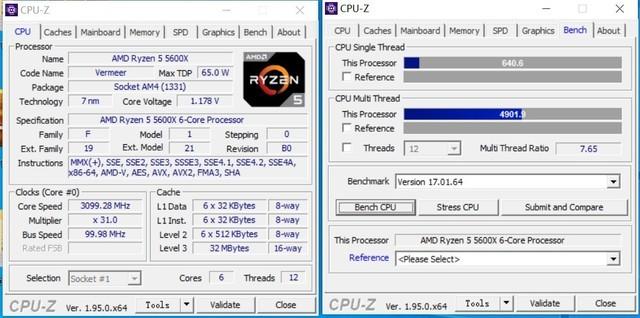 RTX3070评测 R5 5600X把i9 10900K打飞