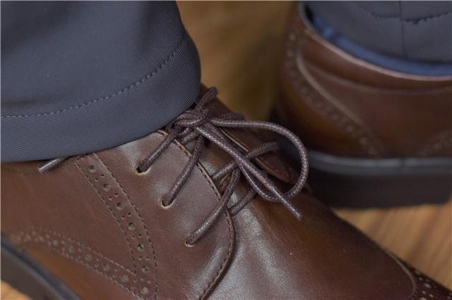 皮鞋选购参考,七面擦色牛皮布洛克德比鞋体验