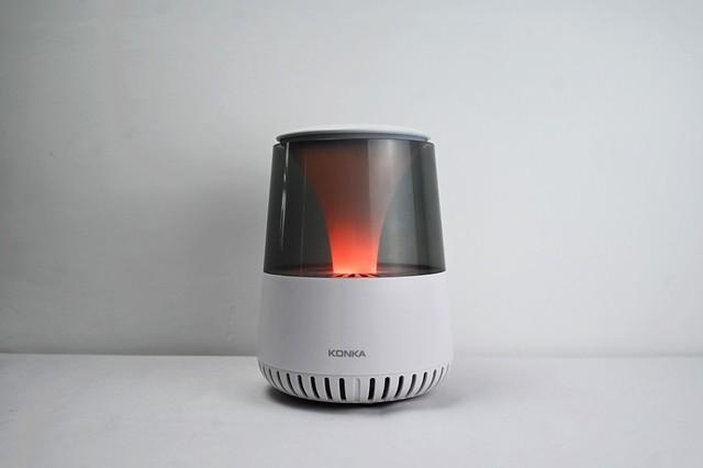 空气更清新,生活更健康:康佳智能空气净化灯