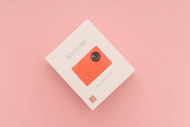 小米有品海鸟4K运动相机,性价比之选