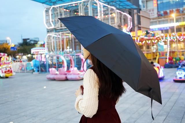 有品悠启全自动开合晴雨伞:遮风挡雨,防紫外线全满足