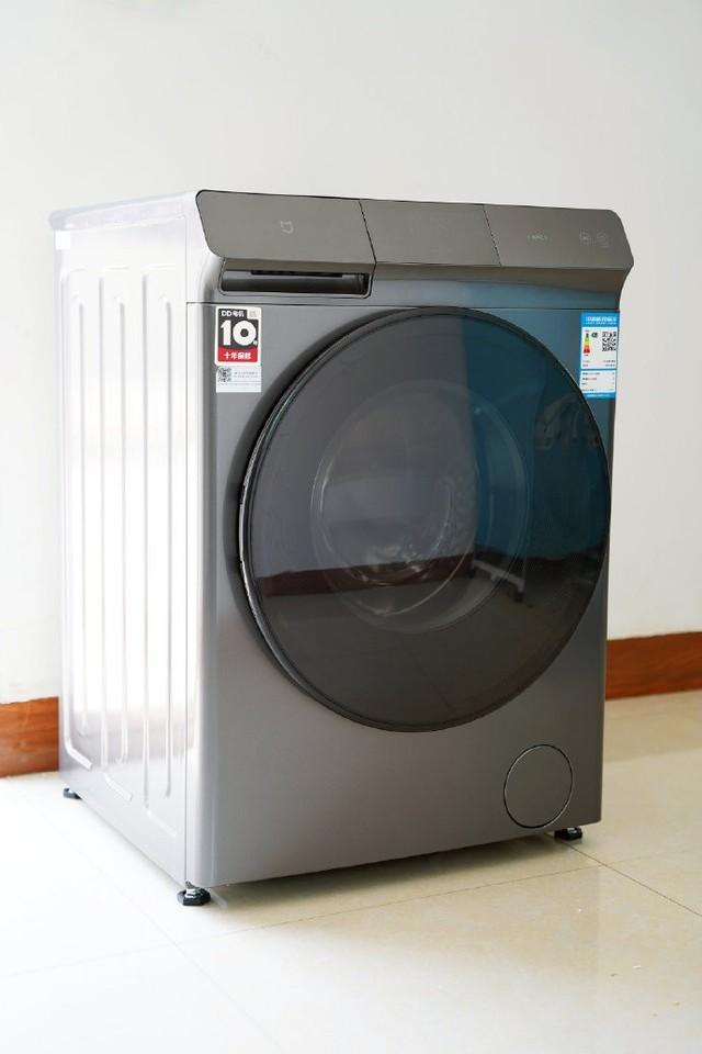 米家10kg直驱洗烘一体机图赏