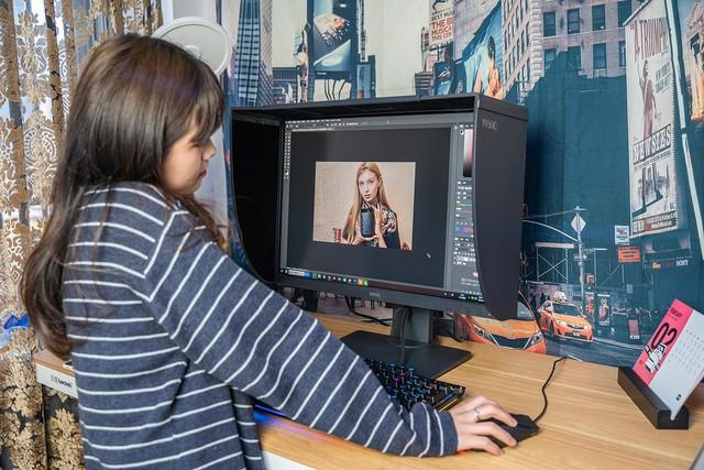设计师设计的显示器有什么特别的?明基SW240体验