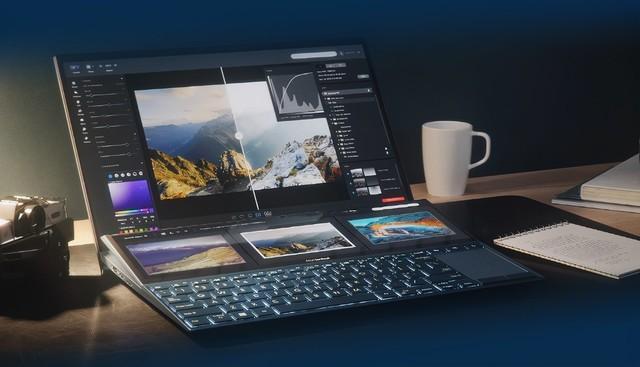 华硕灵耀X双屏解锁全新办公场景,提升工作效率神器