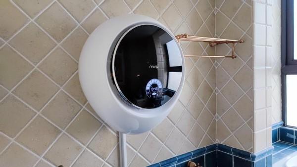 95℃煮洗、18种模式、超静音设计:小吉壁挂洗衣机