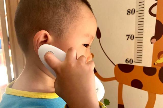 1秒精准测体温,老人孩子操作无忧的凡米耳温计